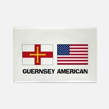 Guernsey American Rectangle Magnet