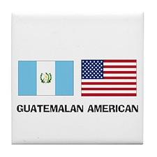 Guatemalan American Tile Coaster