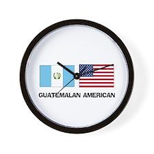 Guatemalan American Wall Clock