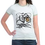 Wedgehead Garden of Eden Jr. Ringer T-Shirt