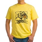 Wedgehead Garden of Eden Yellow T-Shirt