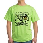 Wedgehead Garden of Eden Green T-Shirt