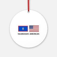 Guamanian American Ornament (Round)