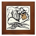 Wedgehead Garden of Eden Framed Tile