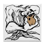 Wedgehead Garden of Eden Tile Coaster