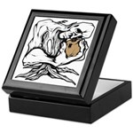 Wedgehead Garden of Eden Keepsake Box