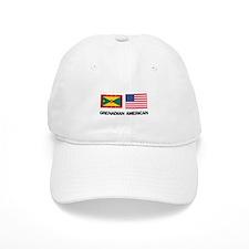 Grenadian American Baseball Cap