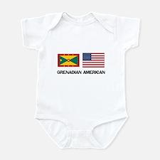 Grenadian American Infant Bodysuit