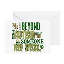 Look Beyond 1.5 (AUTISM) Greeting Card