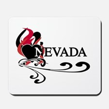Heart Nevada Mousepad