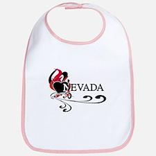 Heart Nevada Bib