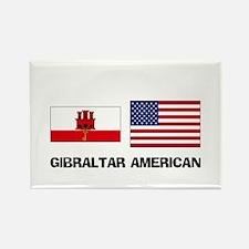 Gibraltar American Rectangle Magnet