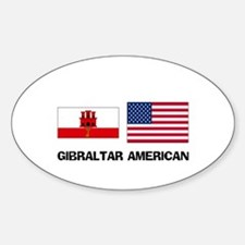 Gibraltar American Oval Decal