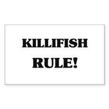Killifish Rule Rectangle Decal