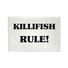 Killifish Rule Rectangle Magnet