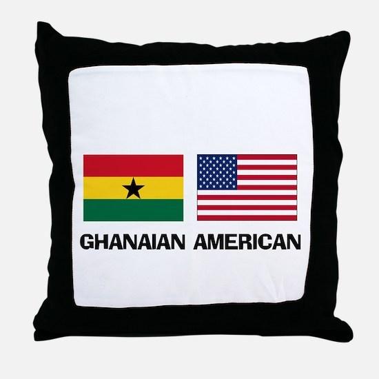 Ghanaian American Throw Pillow