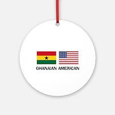 Ghanaian American Ornament (Round)