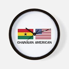 Ghanaian American Wall Clock