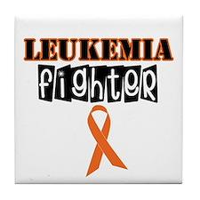 Leukemia Fighter Tile Coaster