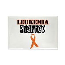 Leukemia Fighter Rectangle Magnet