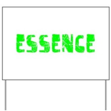 Essence Faded (Green) Yard Sign
