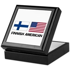 Finnish American Keepsake Box