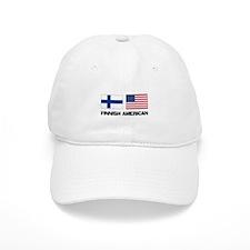 Finnish American Baseball Cap