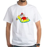 Christmas Mens White T-shirts
