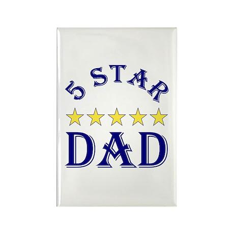 5 Star Dad 2 Rectangle Magnet (100 pack)