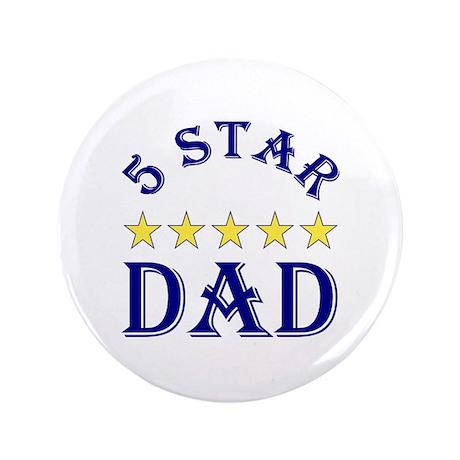 "5 Star Dad 3.5"" Button (100 pack)"