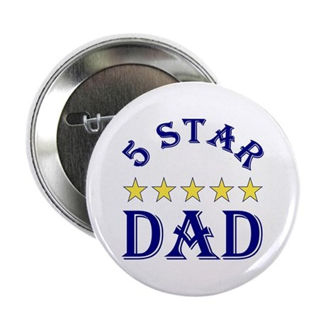 "5 Star Dad 2.25"" Button (100 pack)"