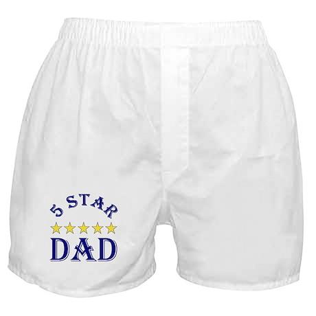 5 Star Dad Boxer Shorts