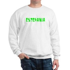 Estefania Faded (Green) Sweater