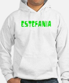 Estefania Faded (Green) Hoodie Sweatshirt