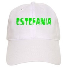 Estefania Faded (Green) Baseball Cap
