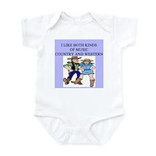 line dancing gifts t-shirts Infant Bodysuit