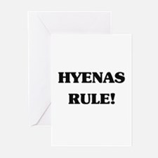 Hyenas Rule Greeting Cards (Pk of 10)