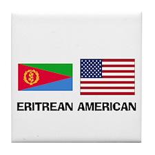 Eritrean American Tile Coaster