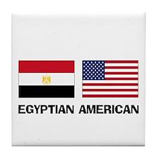 Egyptian American Tile Coaster