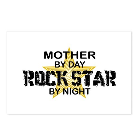 Mother Rock Star by Night Postcards (Package of 8)