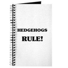 Hedgehogs Rule Journal