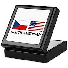 Czech American Keepsake Box