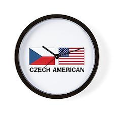 Czech American Wall Clock