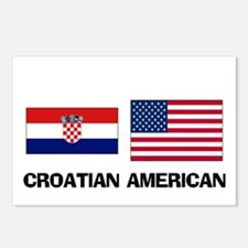 Croatian American Postcards (Package of 8)