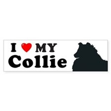 COLLIE-ROUGH Bumper Bumper Sticker