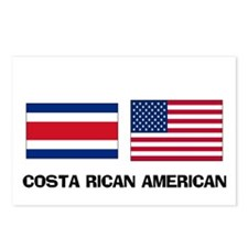 Costa Rican American Postcards (Package of 8)