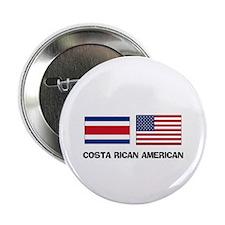 """Costa Rican American 2.25"""" Button"""