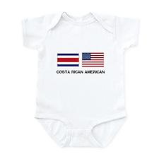 Costa Rican American Infant Bodysuit