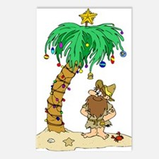 Desert Island Christmas Postcards (Package of 8)