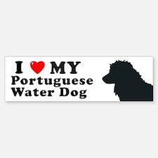 PORTUGUESE WATER DOG Bumper Bumper Bumper Sticker